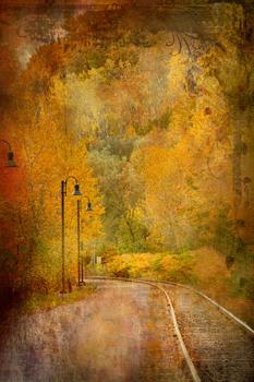Railroad by Martha Burger