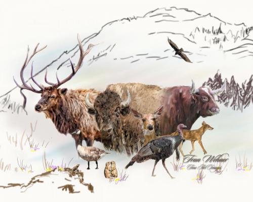 'Friends of Mount Scott' by Fran Wehner
