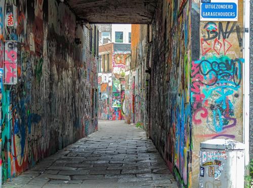 Graffti Zone by Anita Freeman