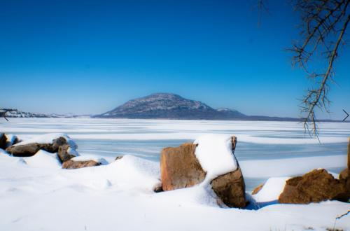 Ice Lawtonka by Jodie Gisinger