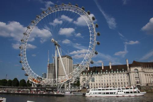 The London Eye by Clem Wehner