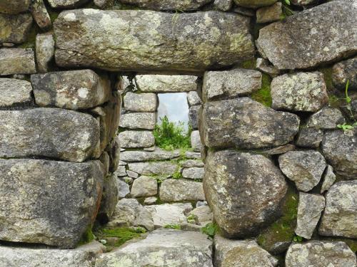 Through Ancient Windows by Anita Freeman