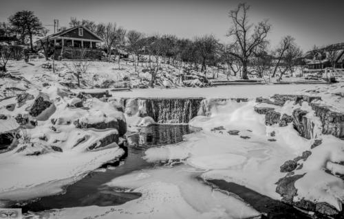 Winter Wonderland at Medicine Park by Jodie Gisinger